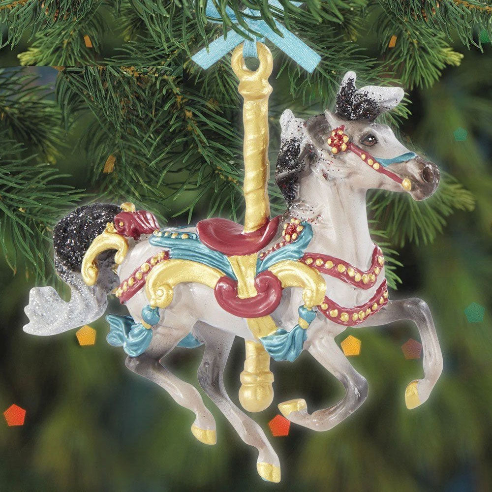 700624 Breyer 2020 Carousel Ornament Flourish