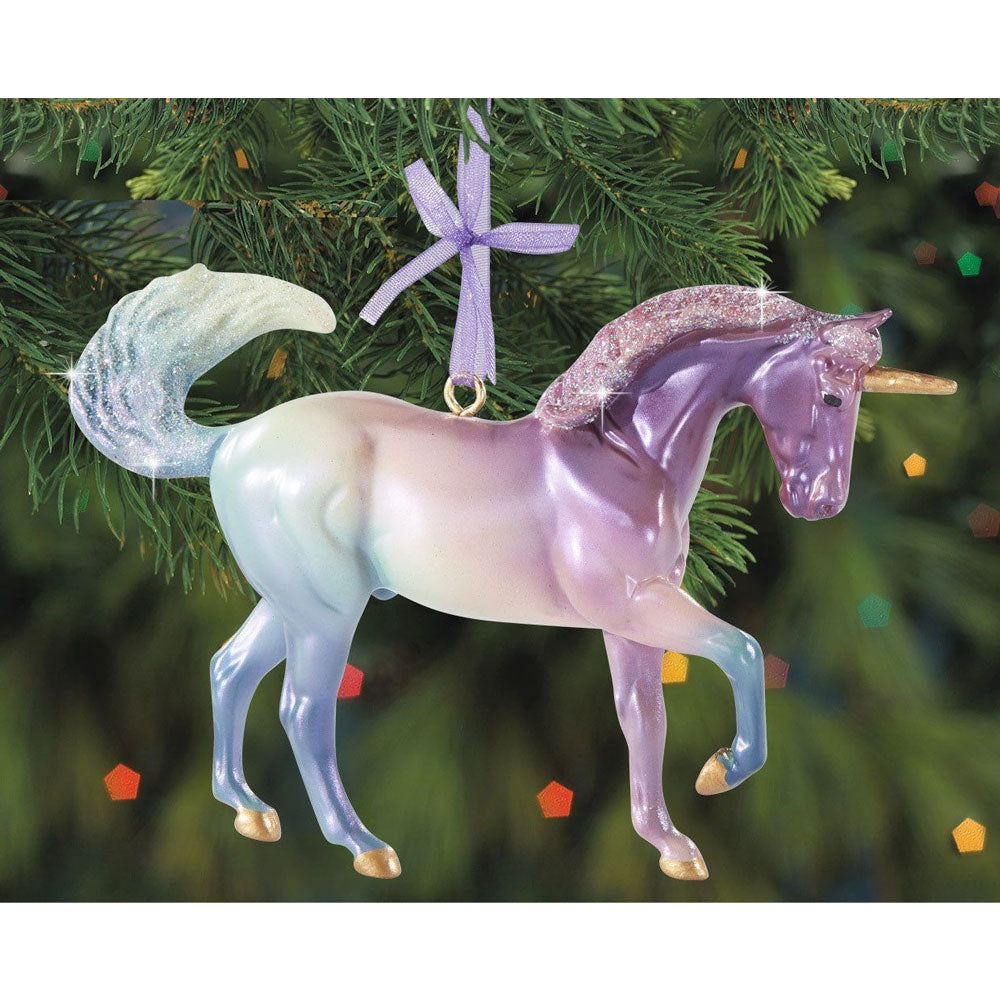 700654 Breyer 2020 Holiday Ornament Cosmo the Unicorn