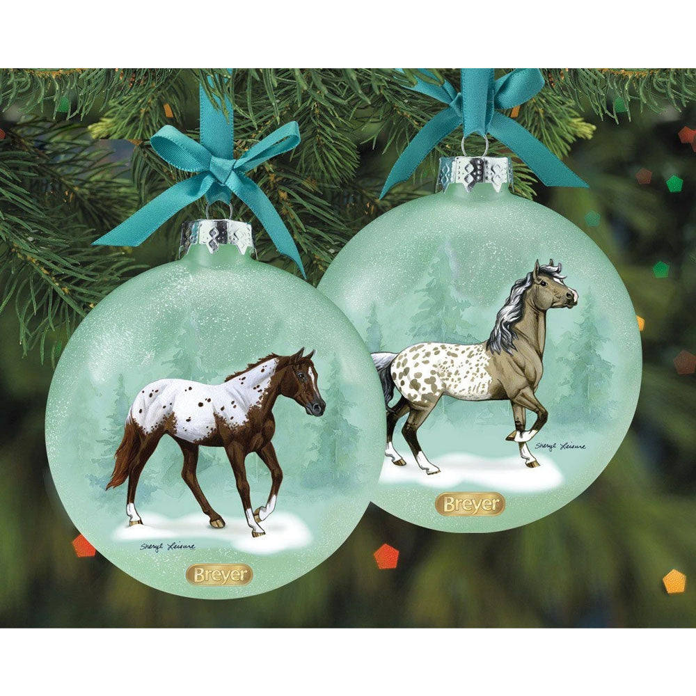 700824 Breyer 2020 Artist Signature Ornament Appaloosa
