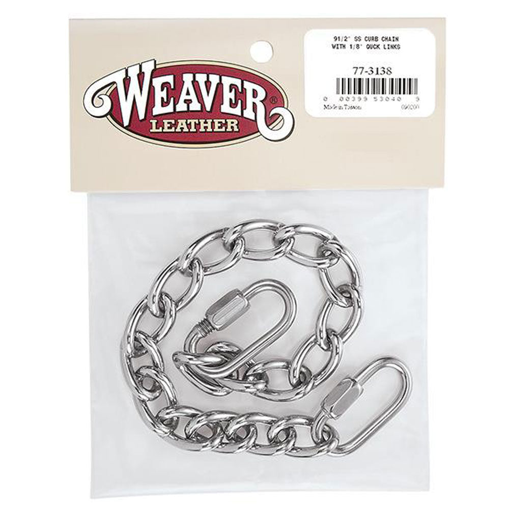 77-3138 Weaver Curb Chain with Quick Links
