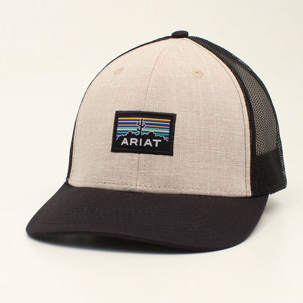 A300011308 Ariat Men's Cactus Patch Snapback Cap