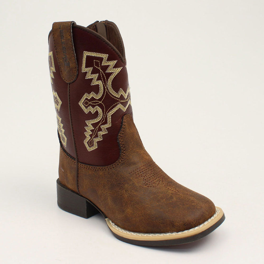 Twister Blake Tan Youth & Toddler Western Boots