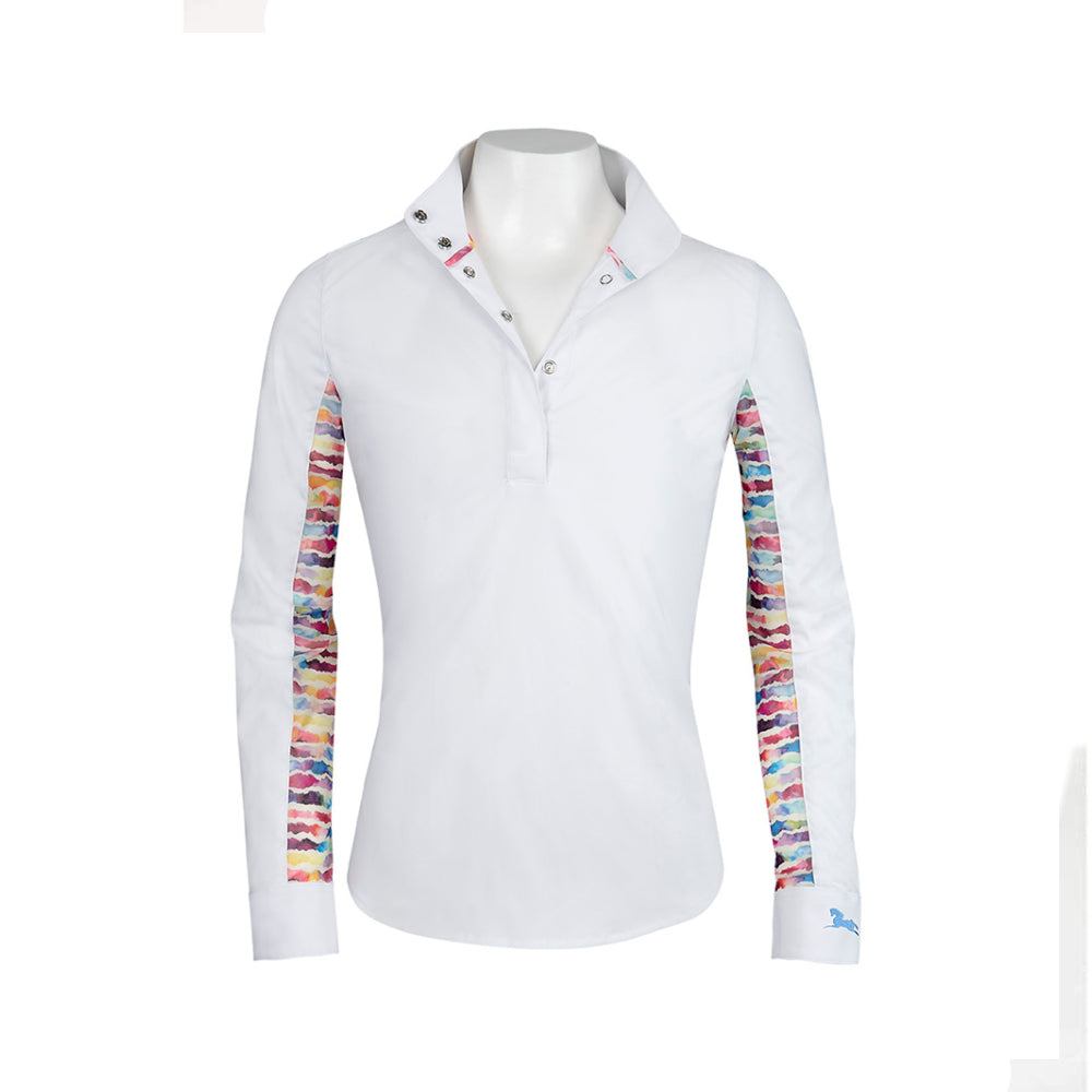 LA680P-J R.J. Classics Children's Lauren Jr Show Shirt - Watercolor