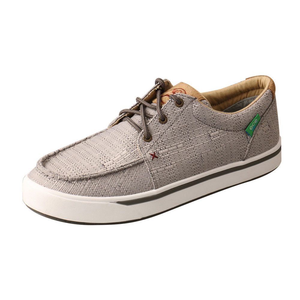MHYC018 Twisted X Men's Hooey Loper Shoe Light Grey