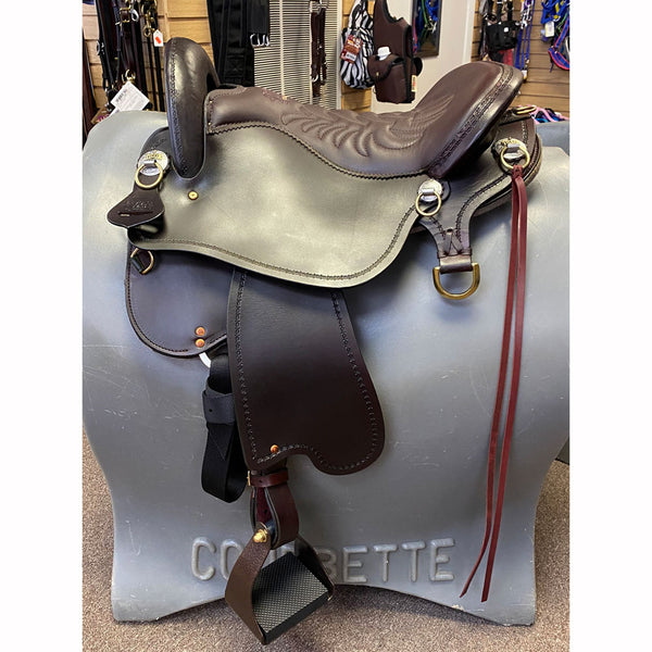 T59-621-5133-11 Tucker Endurance Saddle Brown 16.5 Inch Medium Tree