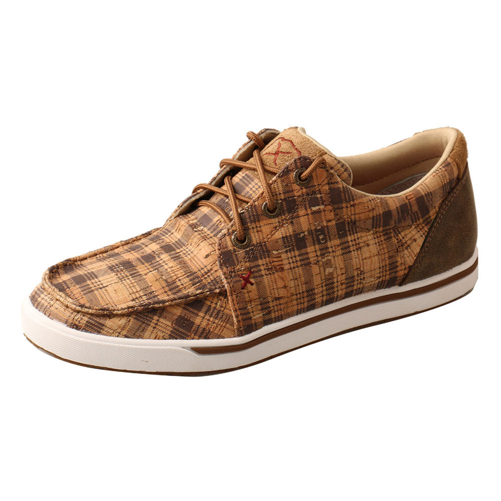 WCA0032 Twisted X Women's Kicks Tan & Bomber Plaid