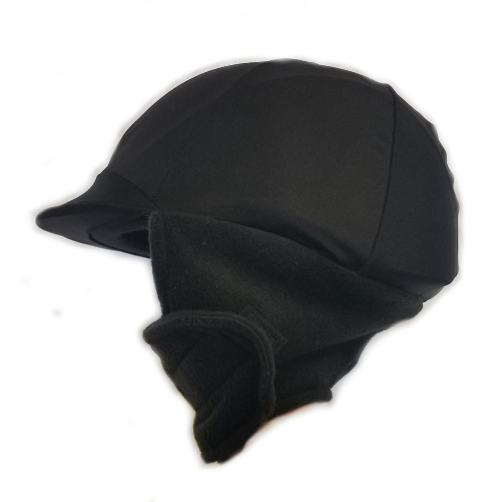 Wire Horse Winter Helmet Cover In Black