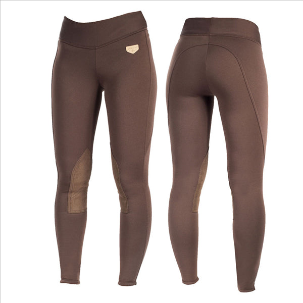 36243 Horze Active Women's Knee Patch Winter Tights