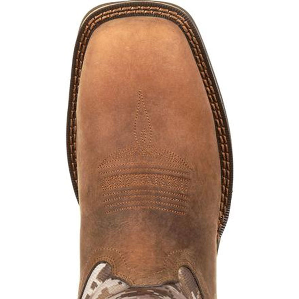 DDB0166 Rebel by Durango Men's Desert Camo Pull On Western Boot