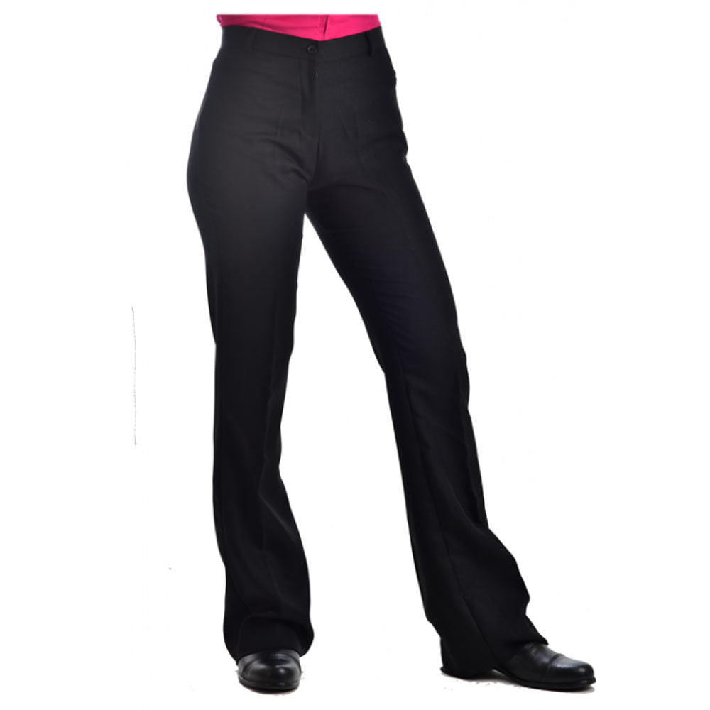 209411 Royal Highness Ladies Low Rise Black Western Show Pants
