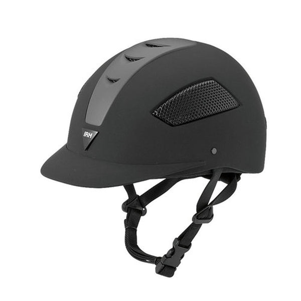 2008 IRH Elite Riding Helmet Black
