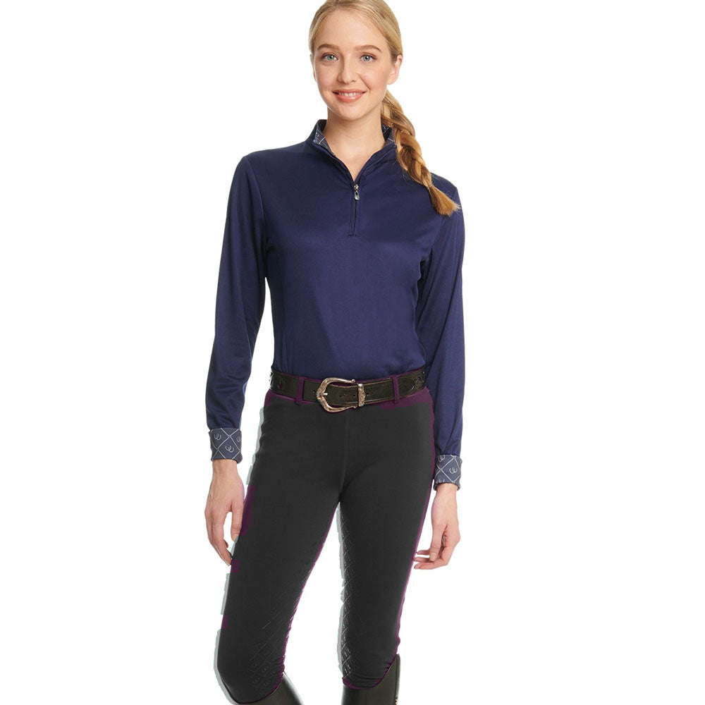 470459 Ovation Ladies Equinox 3-Season Full Seat Pull-On Breech