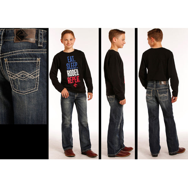 BB-4451 Rock & Roll Cowboy Boys' BB Gun Jeans Regular Fit