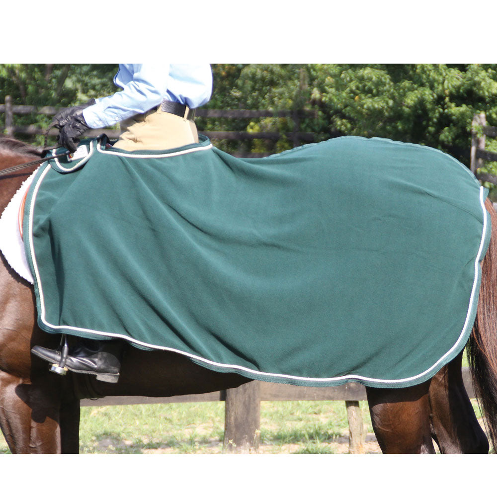 31979 Dura-Tech Polar Fleece Quarter Sheet with Tan Braid