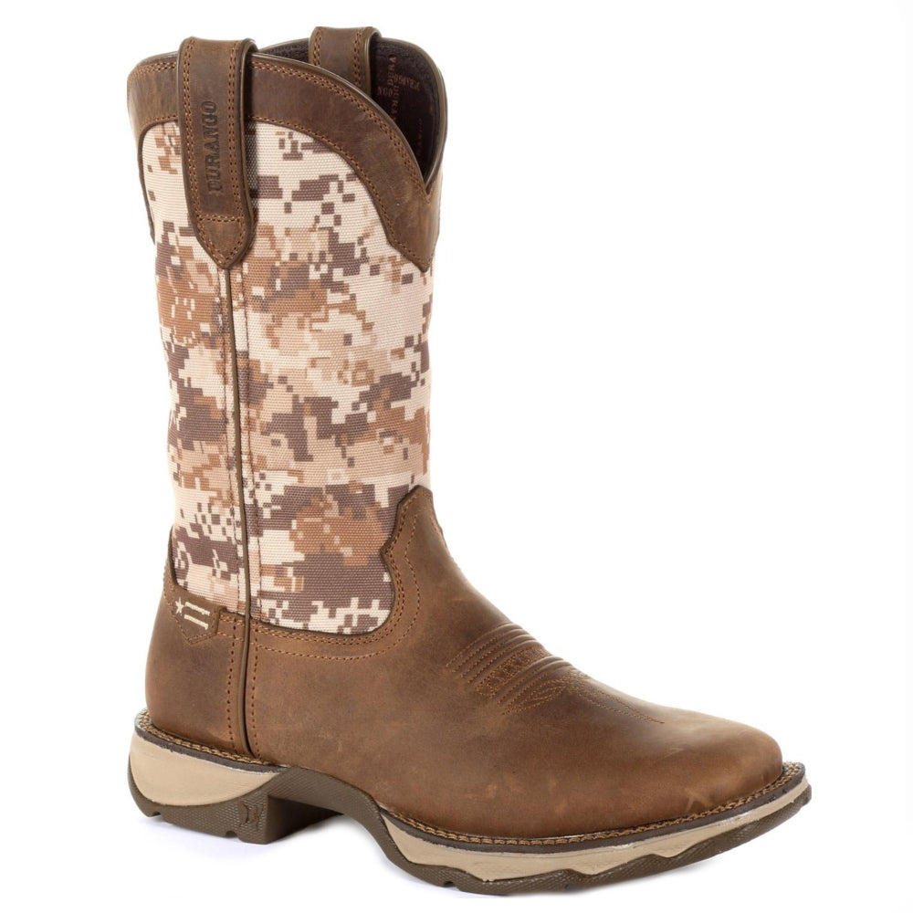 DRD0331 Durango Lady Rebel Women's Desert Camo Western Boot
