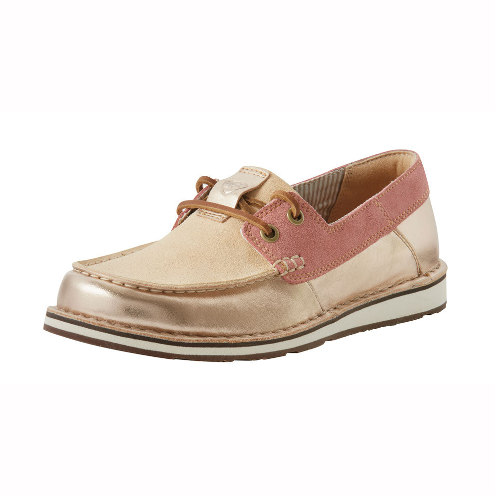 10027158 Ariat Women's Cruiser Shoe Castaway in Rose Gold/Blush