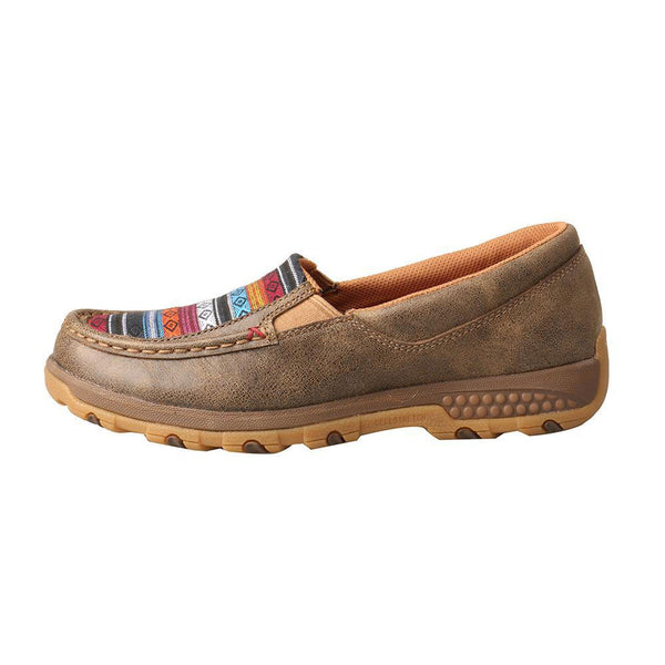 WXC0005  Twisted X Women's Slip-On Driving Moc with CellStretch