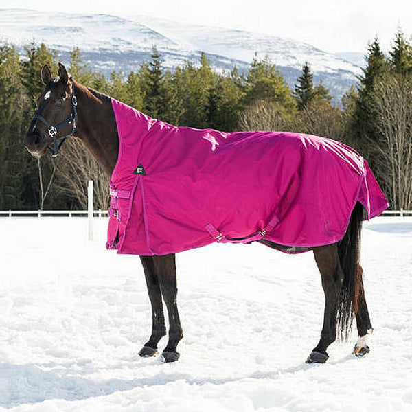 24047 Horze Avalanche 1200D Medium Weight 150g High Neck Turnout Blanket