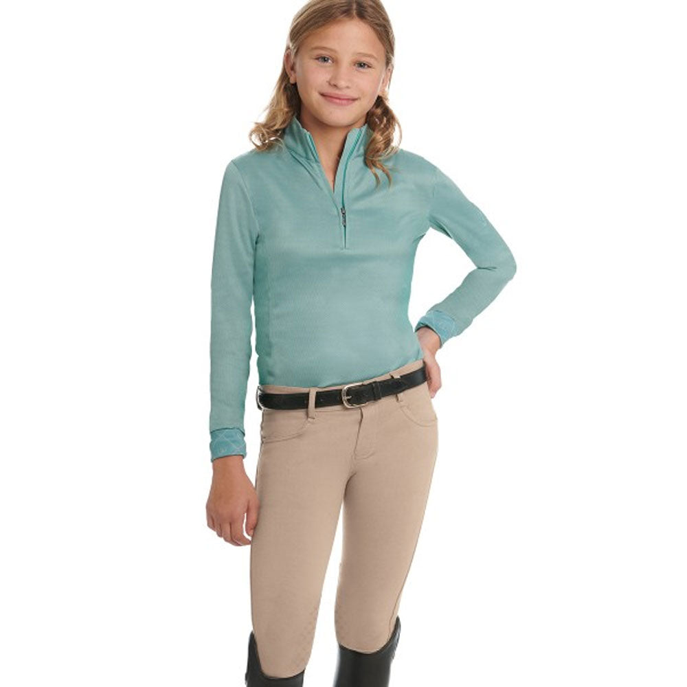 470498 Ovation Children's SoftFlex GripTek Knee Patch Breeches