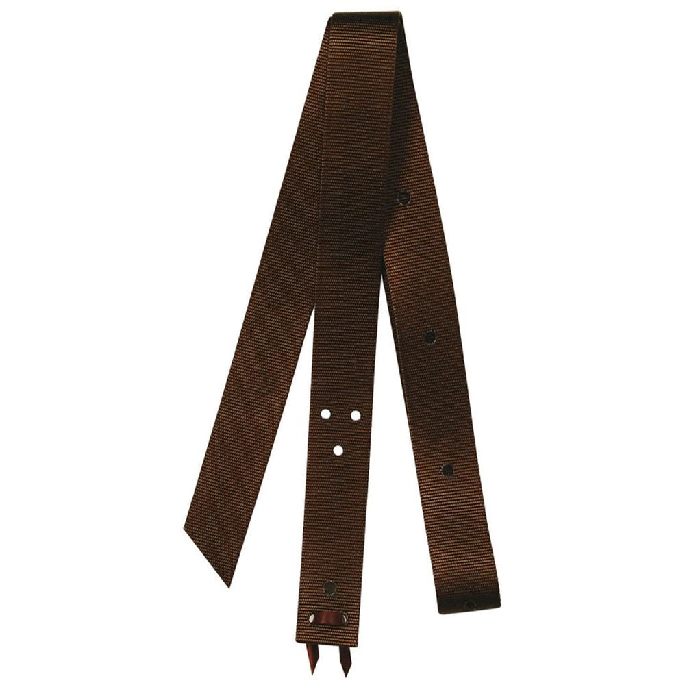 9921 Reinsman Nylon Tie Strap Brown