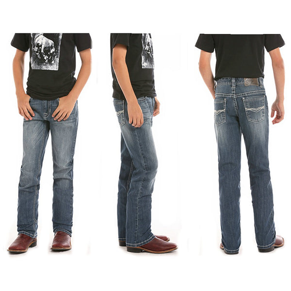 BBS5152 Rock & Roll Cowboy Boy's Reflex Revolver Fit Jean