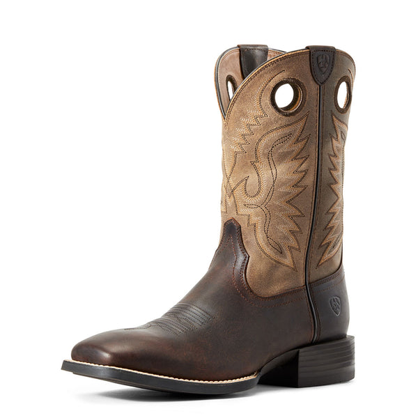 10029633 Ariat Men's Sport Ranger Western Boot Barley Brown/Toasted Tan
