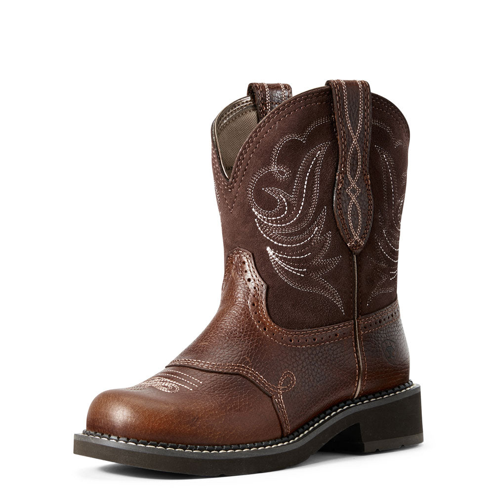 10029492 Ariat Women's Leather Fatbaby Dapper Boot