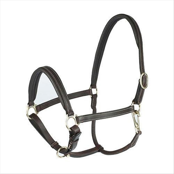 22136 Horze Leather Largo Halter