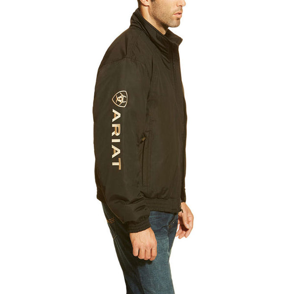 10009945 Ariat Men's Team Logo Insulated Jacket Black