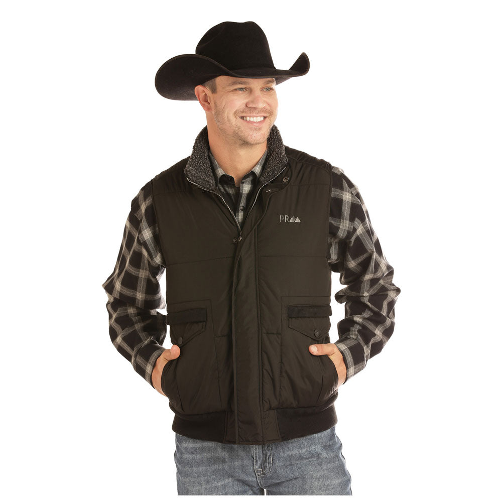 98-2671 Powder River Outfitters Men's Carry Conceal Vest Black