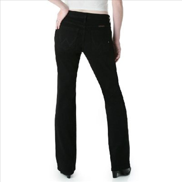 WRQ20BL Wrangler Ladies Q-Baby Jeans Black Magic