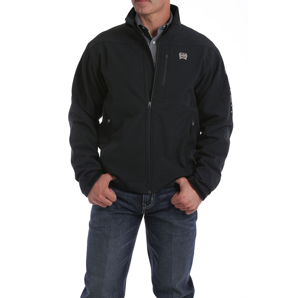 MWJ1077066 Cinch Men's Black Bonded Jacket