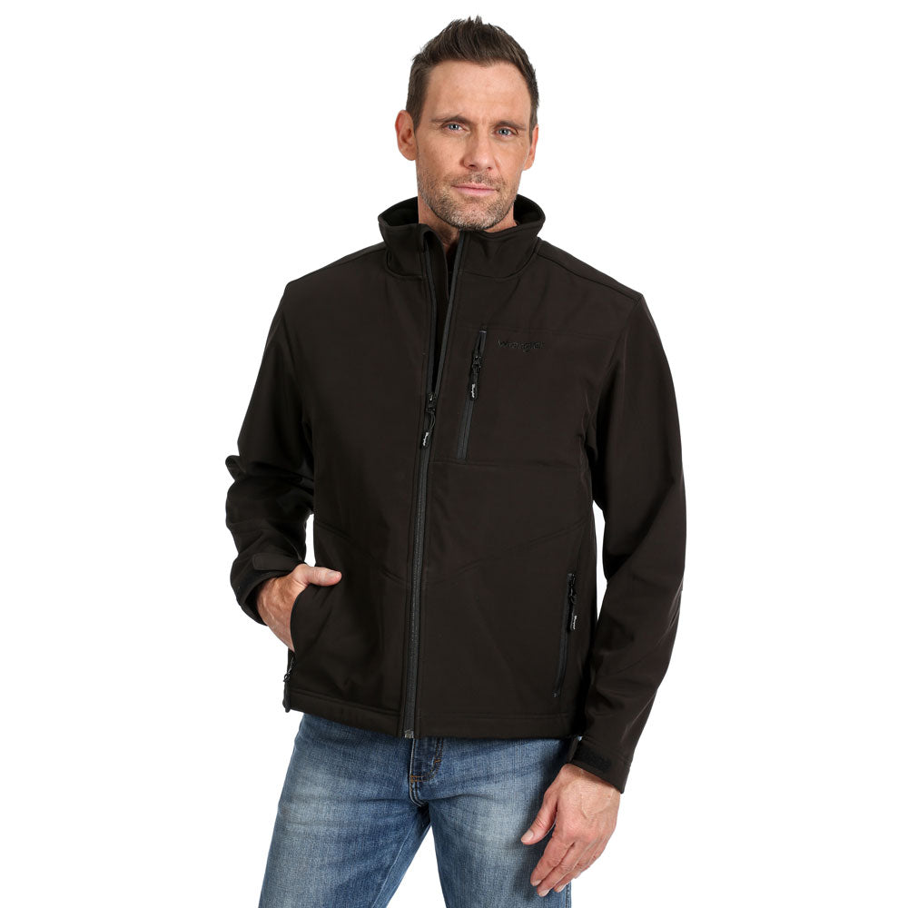 MJK41BK Wrangler Men's Conceal Carry Trail Jacket - Black