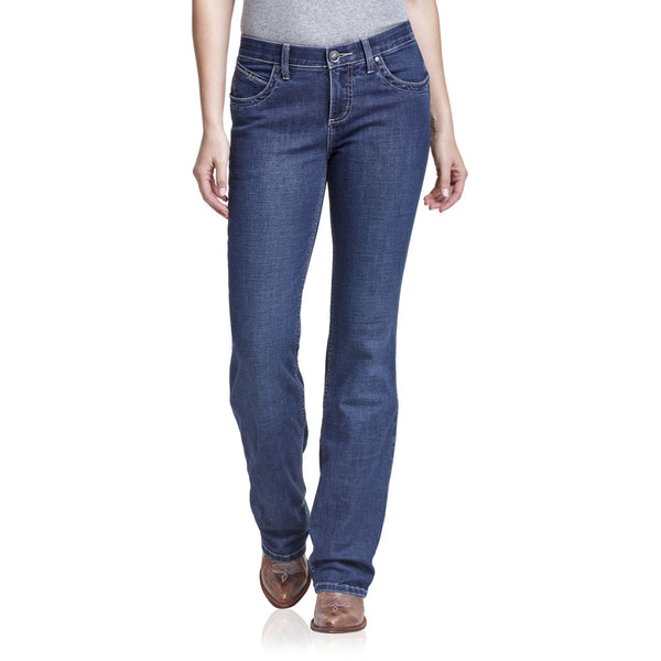 WRQ20WI Wrangler Women's The Ultimate Riding Jean Q-Baby - Wild Streak