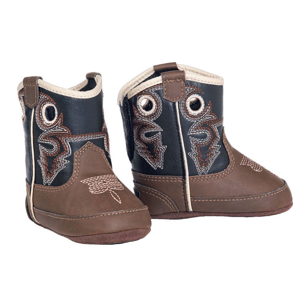Double Barrel Trace Baby Bucker Infant Cowboy Boots