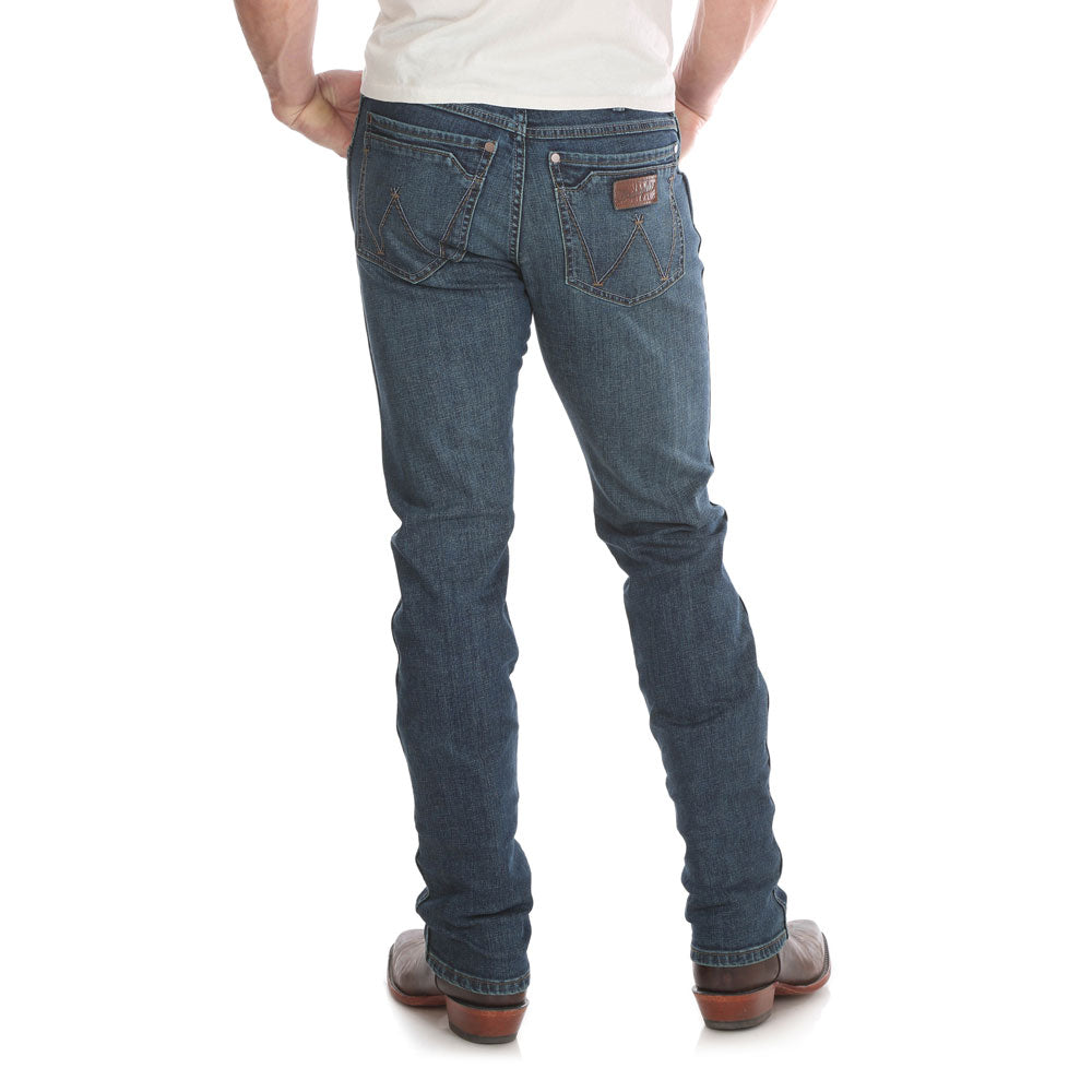 88MWZPD Wrangler Men's Retro® Slim Straight Leg Jean Color: Portland