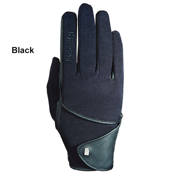 15-3301568 Roeckl Madison Black Winter Riding Glove - Unisex