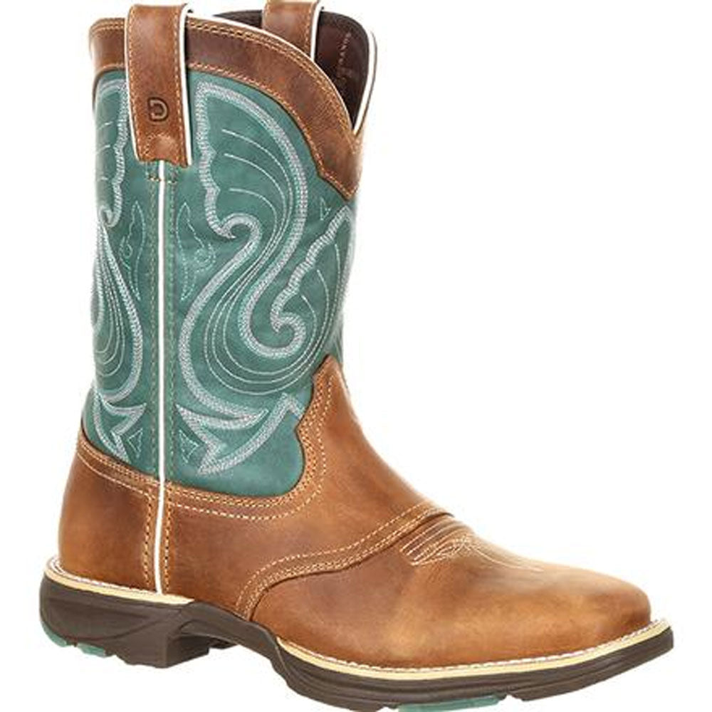 DRD0224 Durango Ultralite Women's Emerald Saddle Western Boot