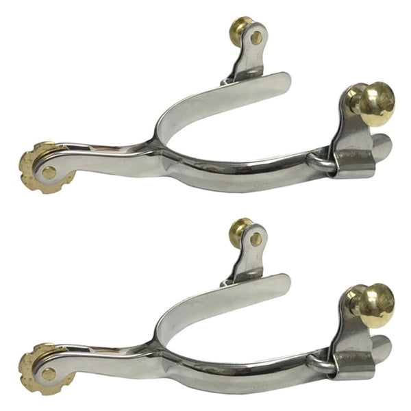 10472 Stainless Steel Roper Spurs