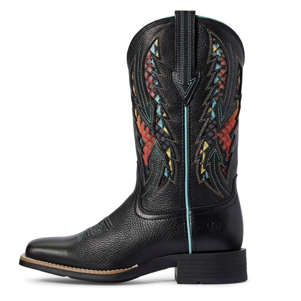 10031613 Ariat Women's Blackjack VentTEK Square Toe Western Boot