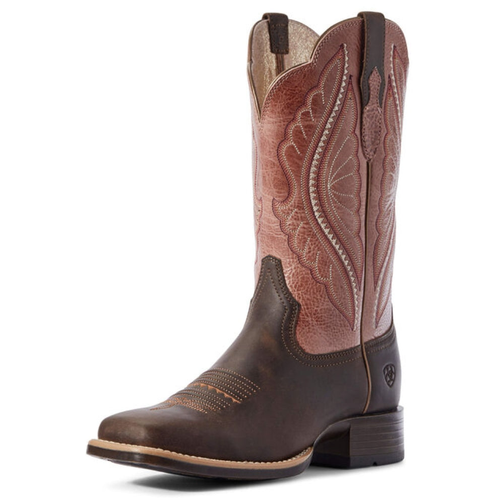 10031647 Ariat Womens PrimeTime Square Toe Western Boot