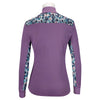 EL314 RJ Classics Ella Ladies' Long Sleeve Icefil Schooling Shirt Grape Jam