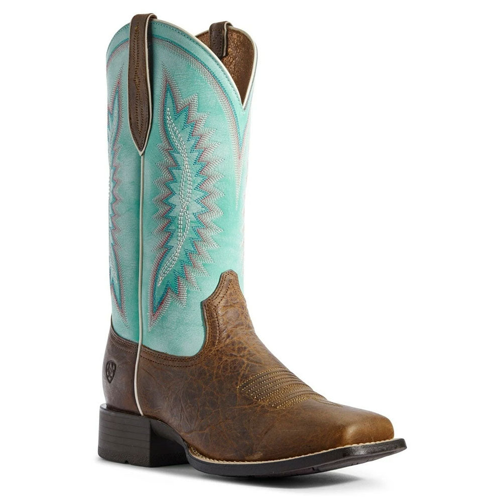 Ariat 10027361 Women/'s Circuit Shiloh Wide Square Toe Phantom Cowgirl Boots