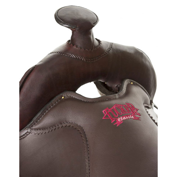 T67-620-9233-12 Tucker Cheyenne Frontier Trail Saddle Brown 16.5 Inch Wide Tree