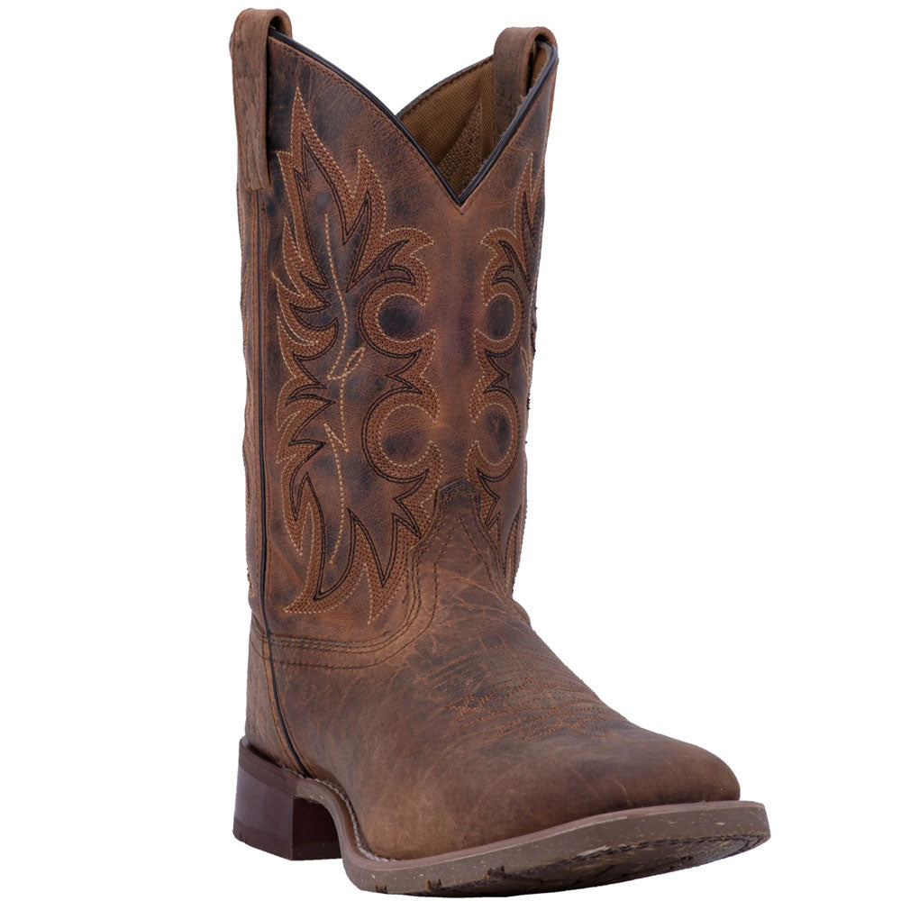 7835 Laredo Men's Durant Western Cowboy Boot Rust Leather