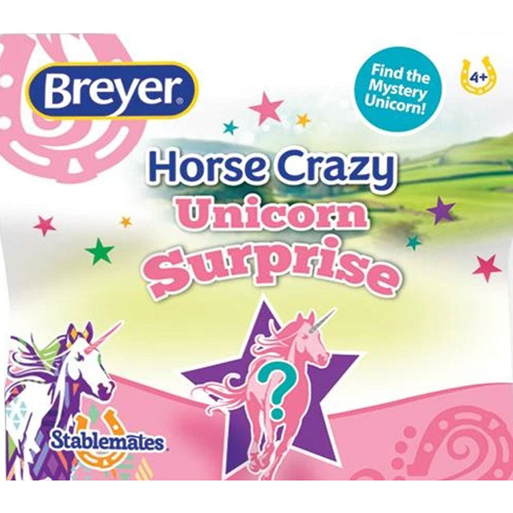 6217 Breyer Stablemates Mystery Unicorn Surprise Blind Bag