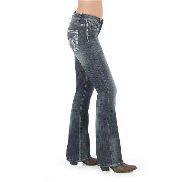 WRS40GW Wrangler Ladies Ultimate Riding Jean Boot Cut Shiloh