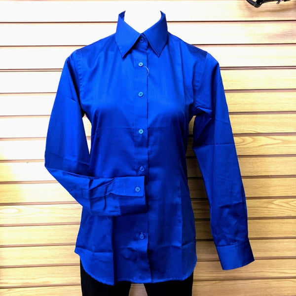 68472 RHE Royal Highness Women's Sateen Solid Color Western Show Shirt