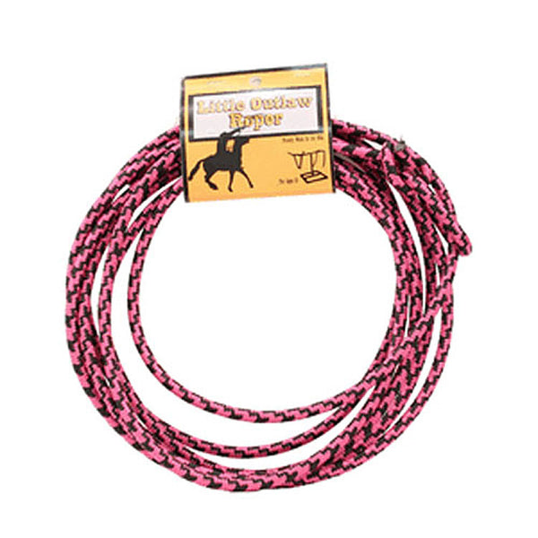 5010329 Little Outlaw Pink & Black Western Rope by M& F Products