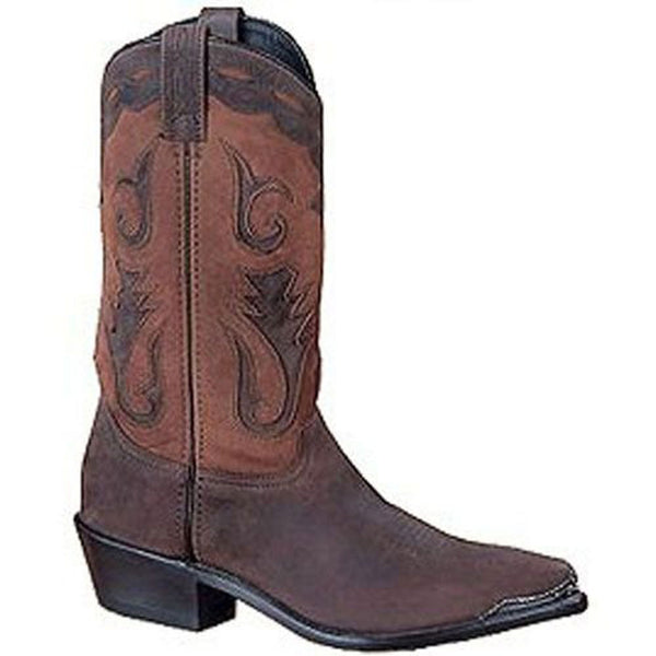 4740 Sage Men's Brown Distressed Western Boot